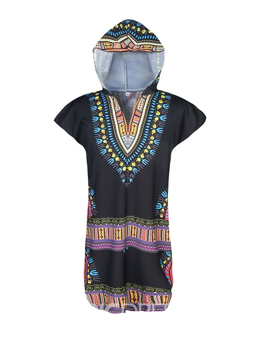 Ericdress African Fashion Dashiki Ethnic Loose Mens T-shirt