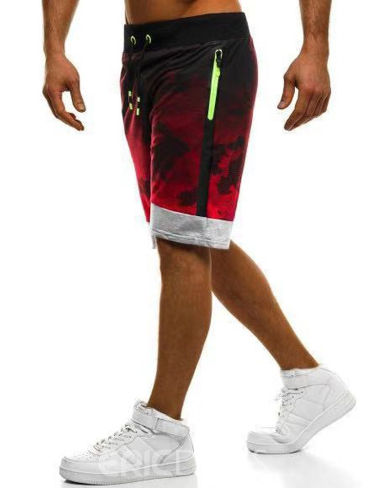Ericdress Camouflage Lace-Up Thin Lace-Up Mens Casual Pants