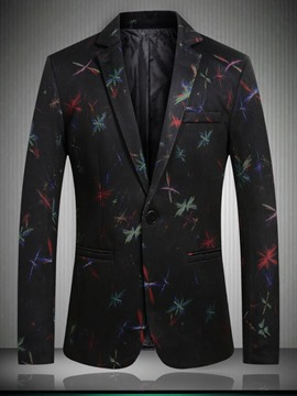 Ericdress Pocket Fashion Slim Mens Blazers