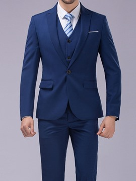 Ericdress Plain Fashion One Button Men's Dress Suit