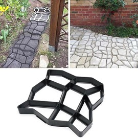 Ericdress Path Maker Plastic Concrete Mold Garden DIY Lawn Paving