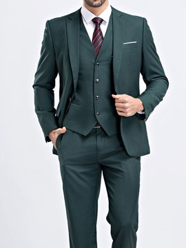 Ericdress Blazer One Button Pocket Men's Dress Suit