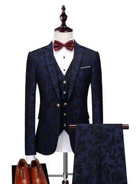 ericdress fashion button blazer herren anzug