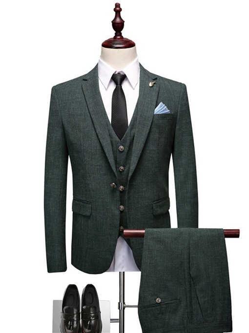 Ericdress Fashion Blazer Pocket Mens Dress Suit