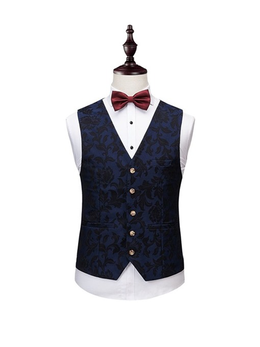 Ericdress Fashion Button Blazer Mens Dress Suit