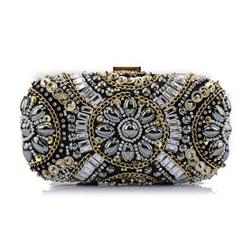 Ericdress Versatile Diamond Polyester Clutches & Evening Bags