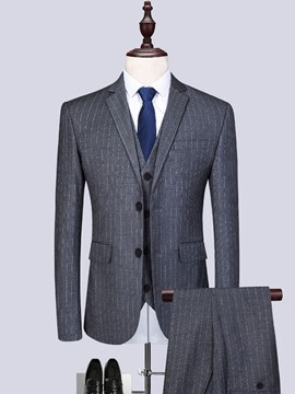 Ericdress Formal Plain Pocket Mens Dress Suit