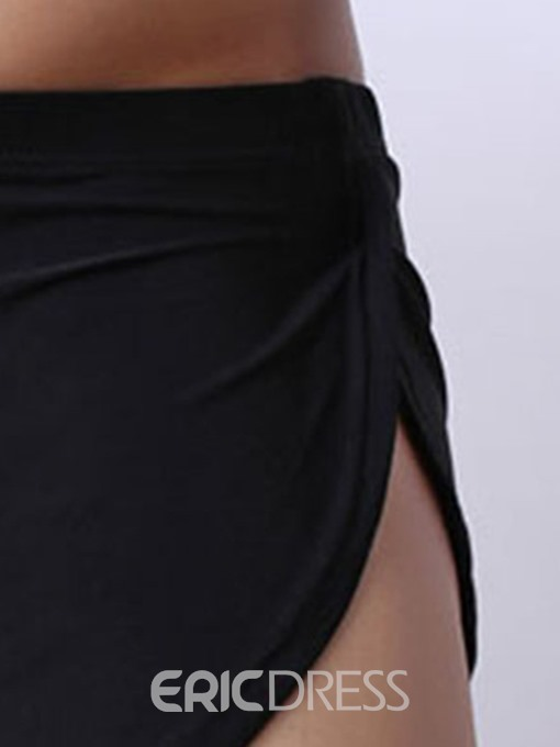 Ericdress Meryl Plain Boyshort Low Waist Underwear