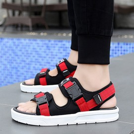 Ericdress Color Block Velcro Open Toe Men's Outdoor Sandals