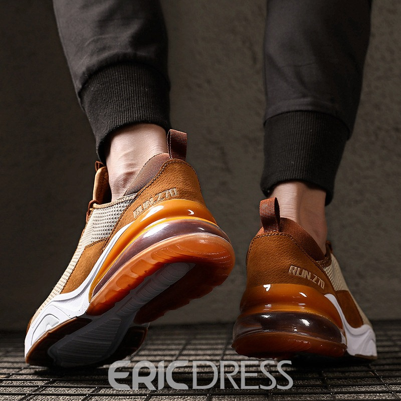 Ericdress Mesh Lace-Up Low-Cut Upper Men's Shoes