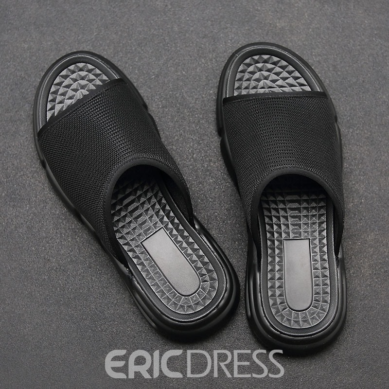 Ericdress Plain Men's Casual Slippers