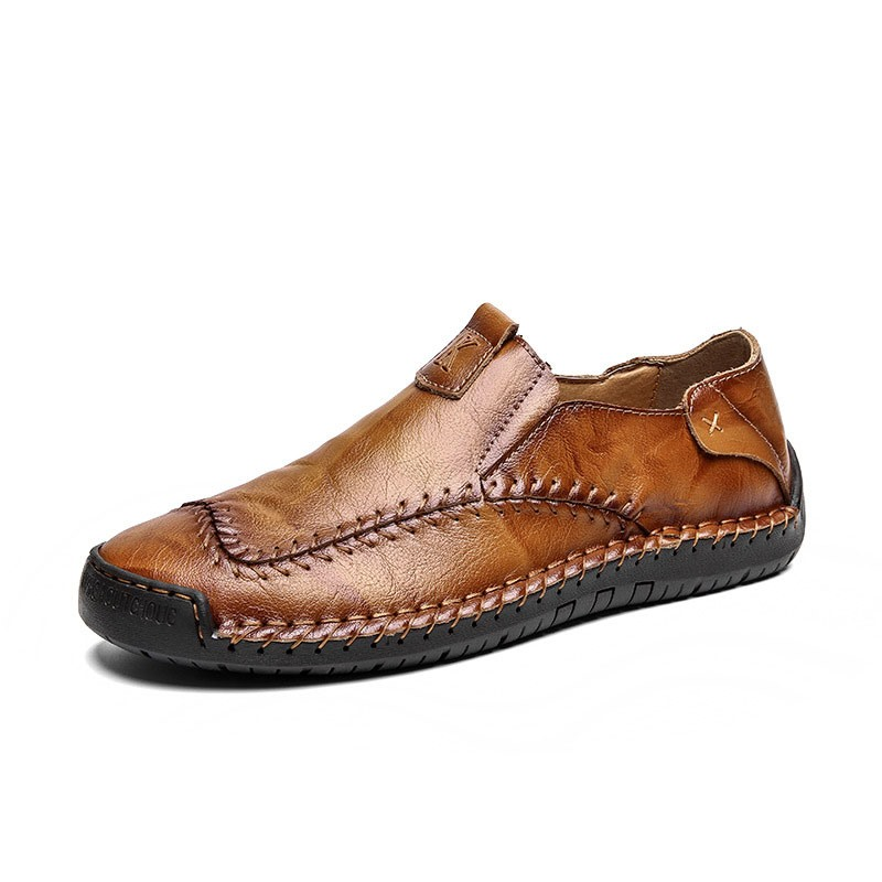 Ericdress Plain Round Toe Men's Simple Shoes