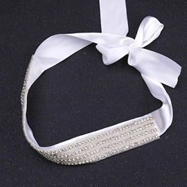 Fabric Regular(2-4cm) Mosaic Bridal Belts