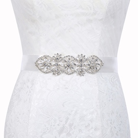 Ericdress Wide Belt(>4cm) Polyester Mosaic Bridal Belts