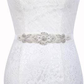 Ericdress Regular(2-4cm) Polyester Mosaic Bridal Belts