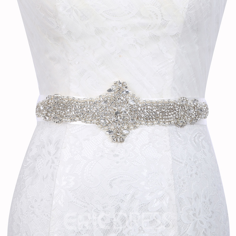 Regular(2-4cm) Polyester Mosaic Bridal Belts