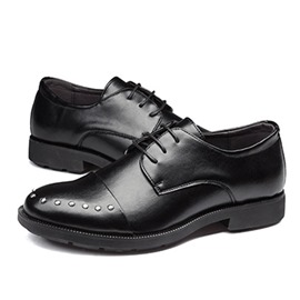 Ericdress Plain Lace-Up Low-Cut Upper Men's Dress Shoes