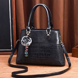 Ericdress PU Alligator Embossing Square Tote Bag