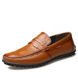 Ericdress Plain Slip-On Men's Work Shoes
