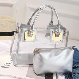 Ericdress Plain PU Flap Handbags