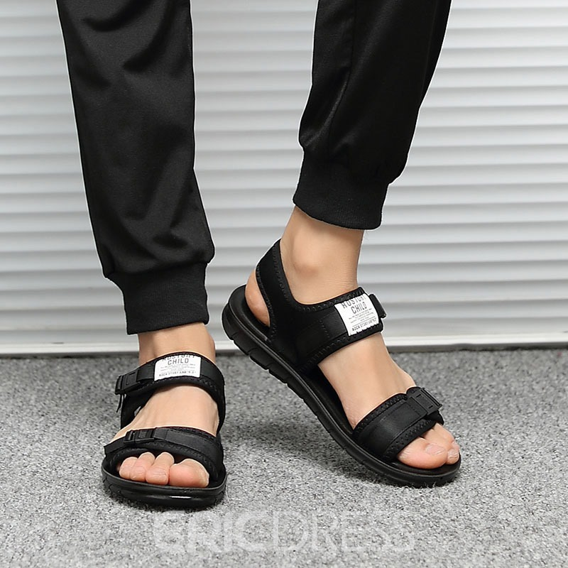 Ericdress Velcro Open Toe Men's Sandals