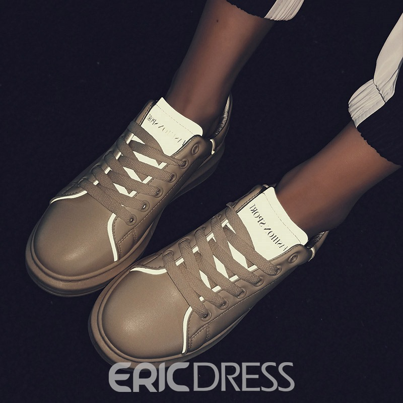 Ericdress PU Round Toe Men's Casual Sneakers