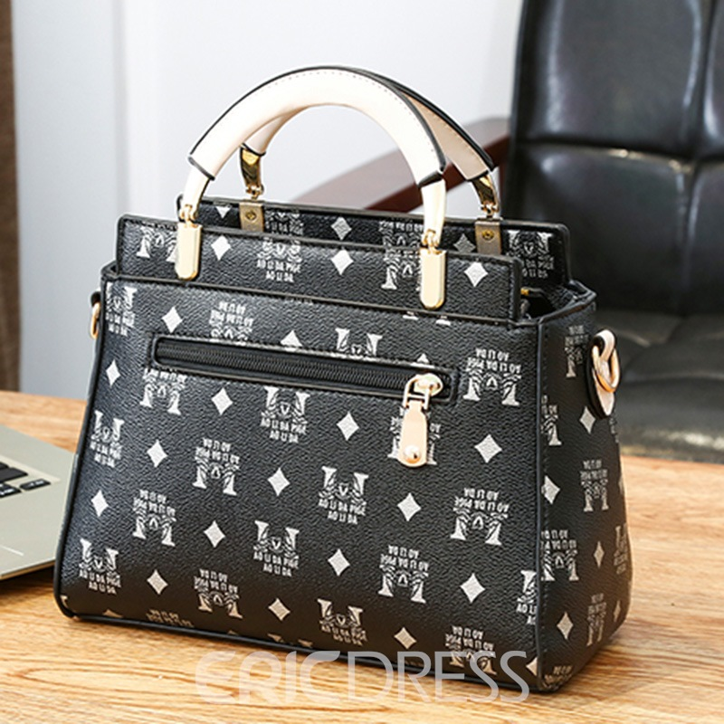 Ericdress Casual Colorful PU Handbags