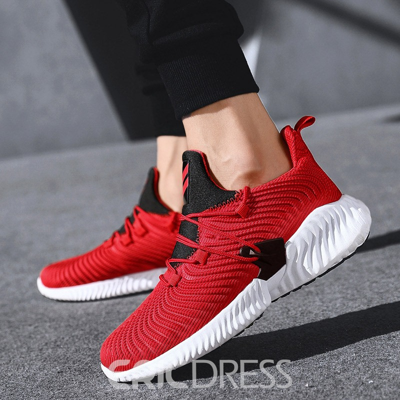Ericdress Lace-Up Closed Toe Men's Outdoor Sneakers