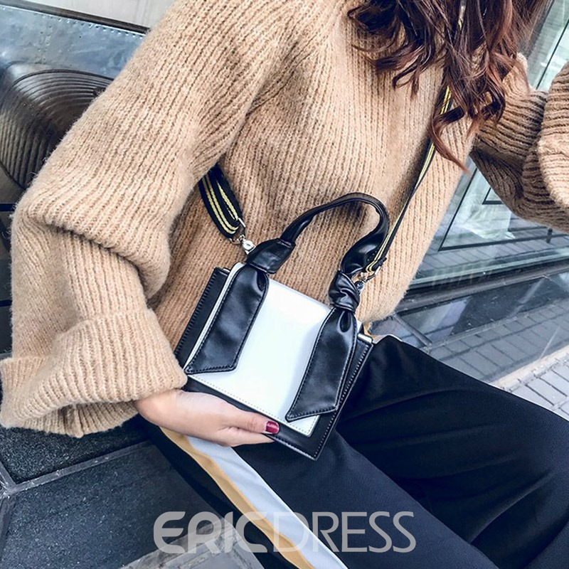 Ericdress Casual PU Square Handbags