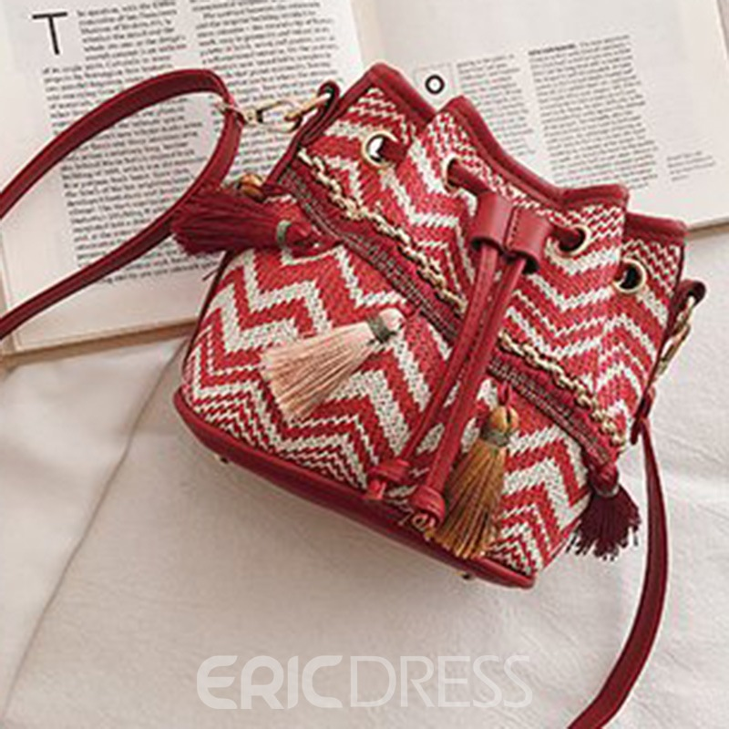 Ericdress Bohemian Style Twill Shoulder Bags