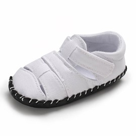 Ericdress Plain Hollow Velcro Toddler Shoes