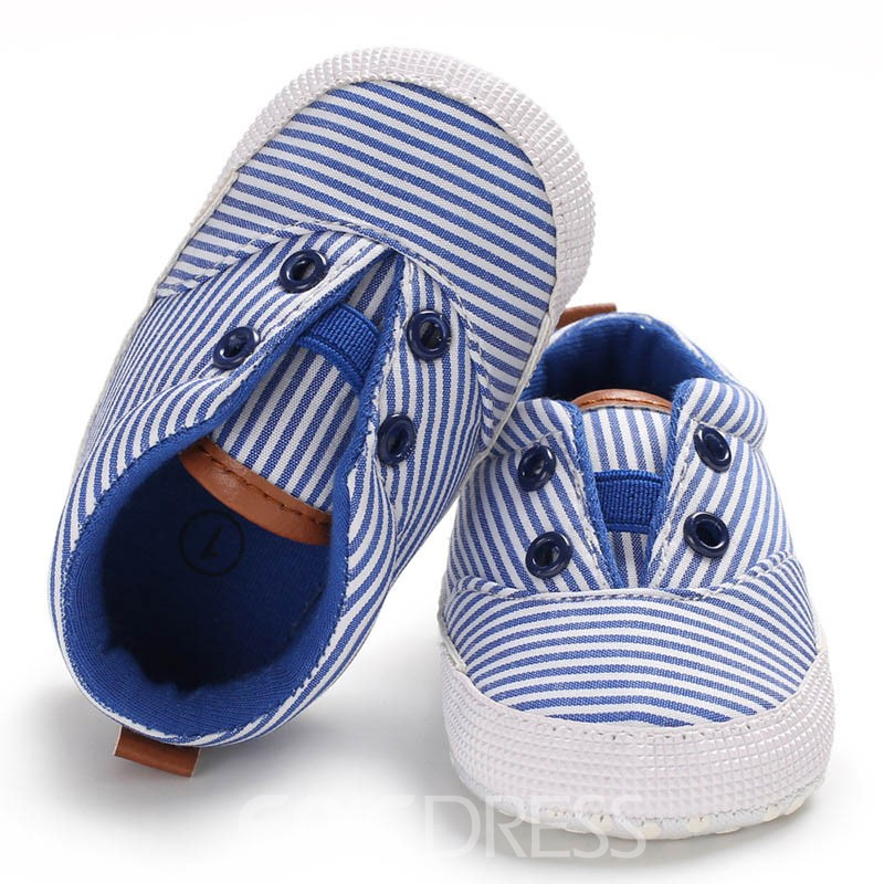 Ericdress Stripe Slip-On Baby Toddler Shoes