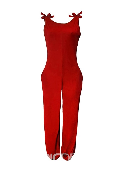 Ericdress Strap Full Length Loose Jumpsuit