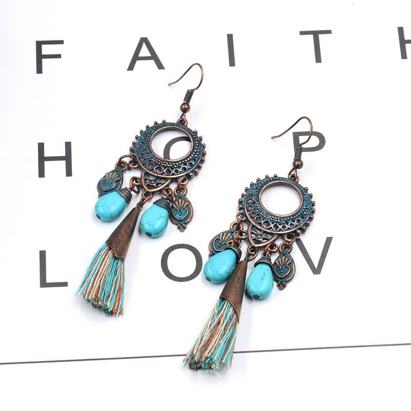 Ericdress Tassel E-Plating Party Earrings