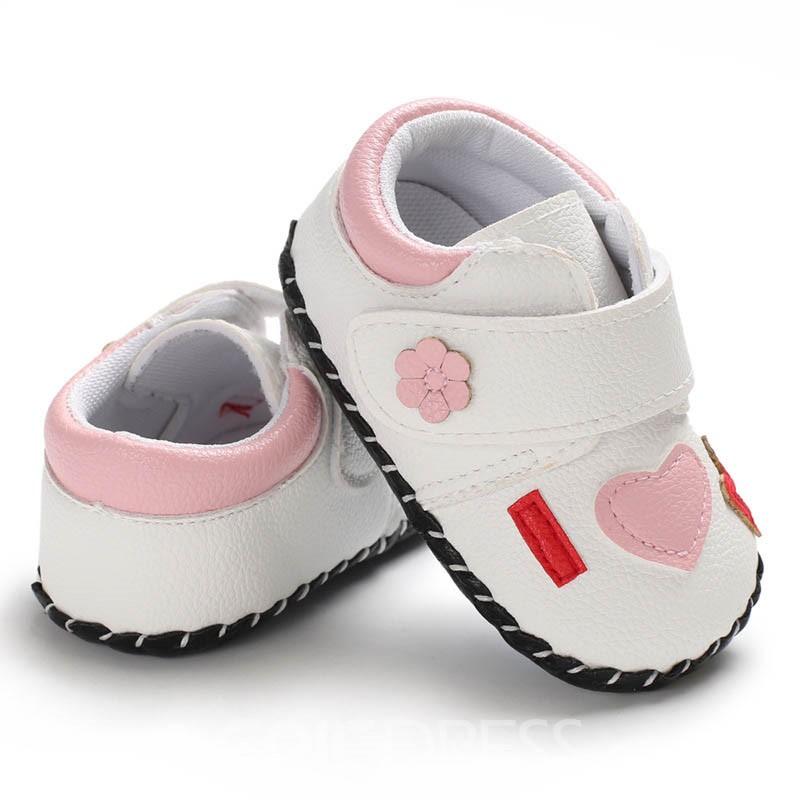 Ericdress PU Color Block Toddler Shoes