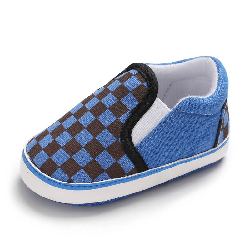 Ericdress Plaid Slip-On Toddler Shoes