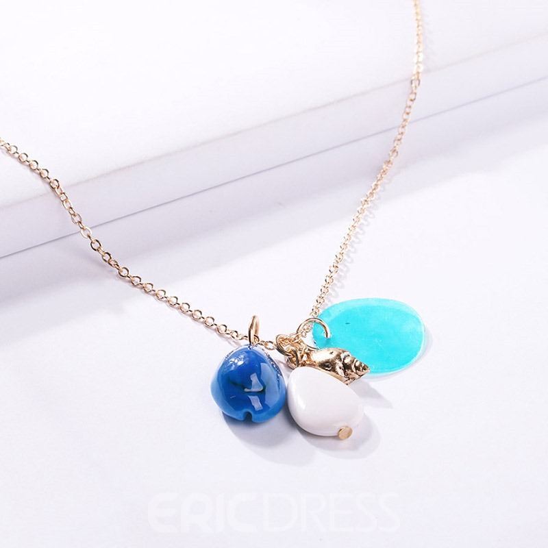 Ericdress Fashion Color Block Necklace For Women