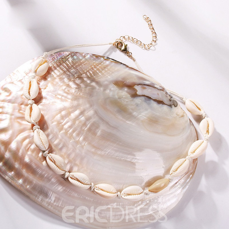 Ericdress Choker Conch Necklace For Women