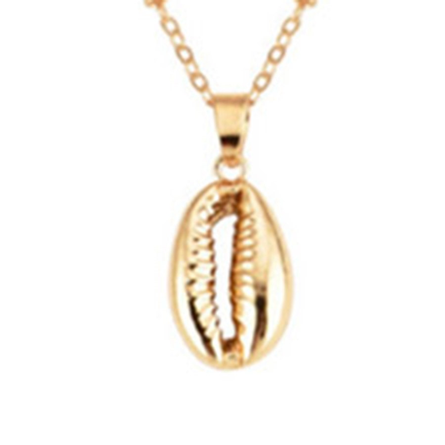 Ericdress Shell Multilayer Pendant Necklace