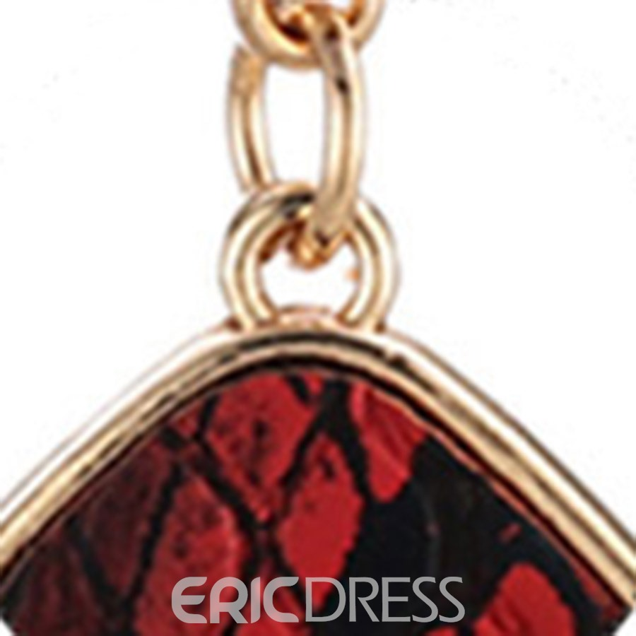 Ericdress Alloy Snakeskin Earrings