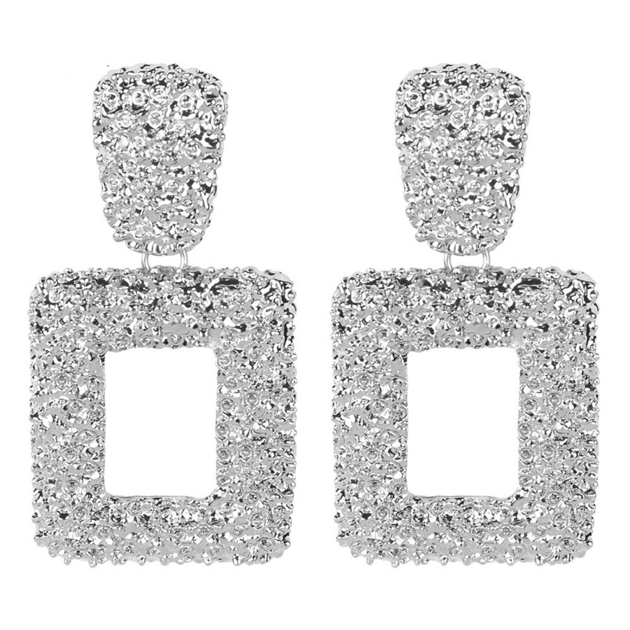 Ericdress E-Plating Alloy Square Fashion Earrings