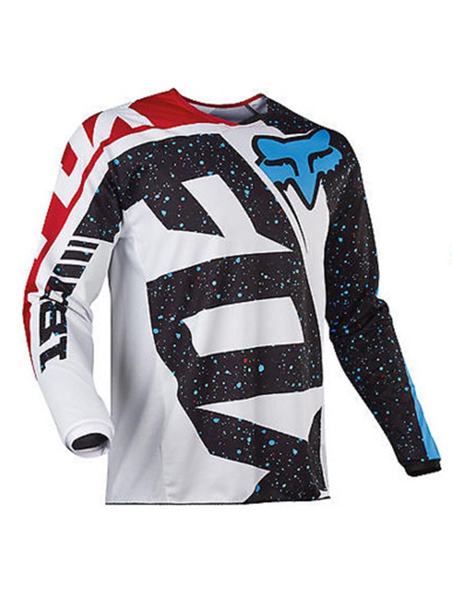 Ericdress Men Letter Print Long Sleeve Cycling Sports Tops