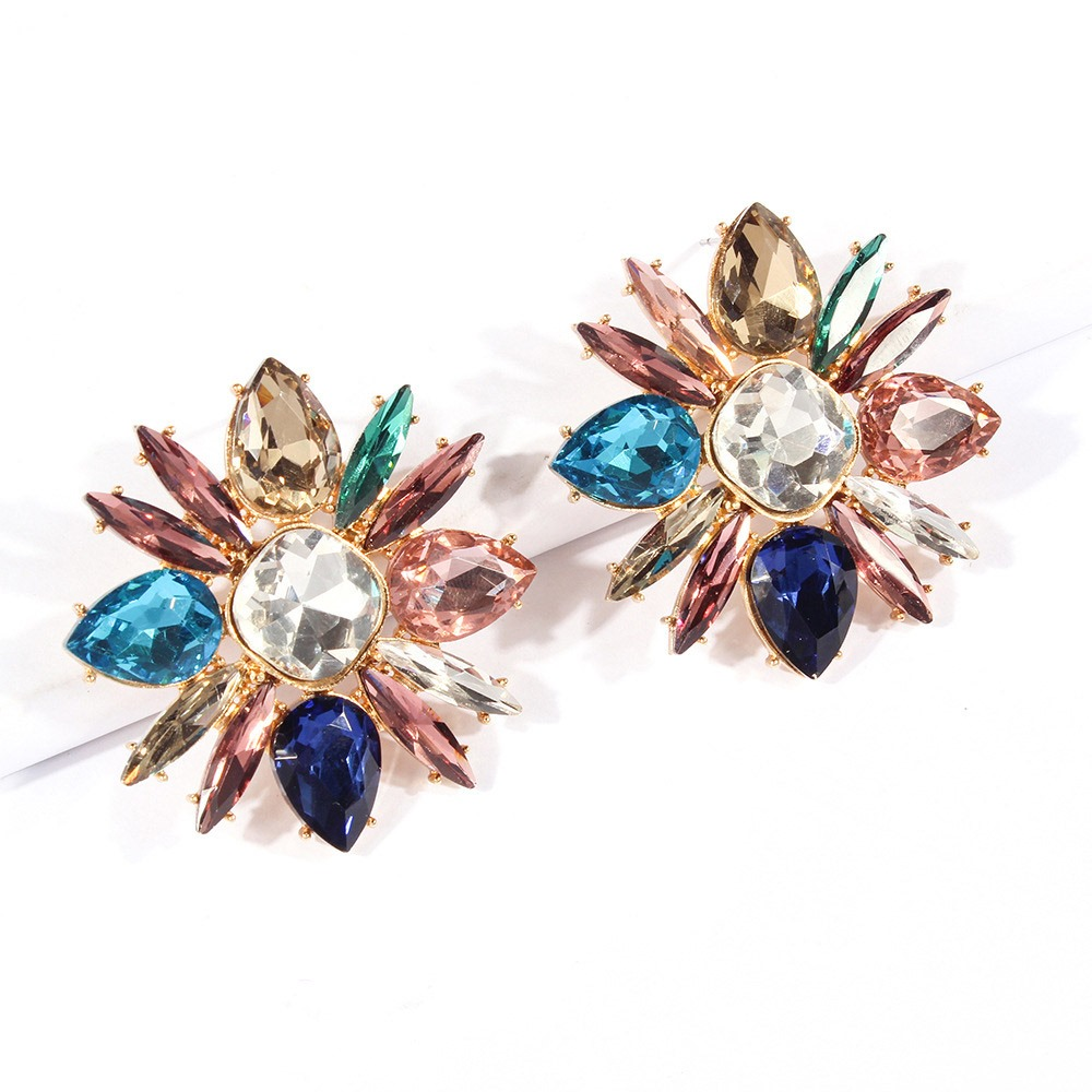 Ericdress Alloy Gems Shinning Earrings