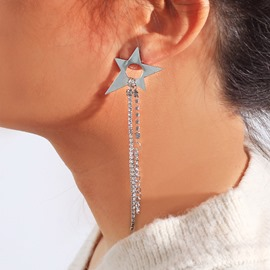 Ericdress Star Alloy Party Earrings