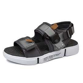 Ericdress Color Block Simple Buckle Men's Sandals