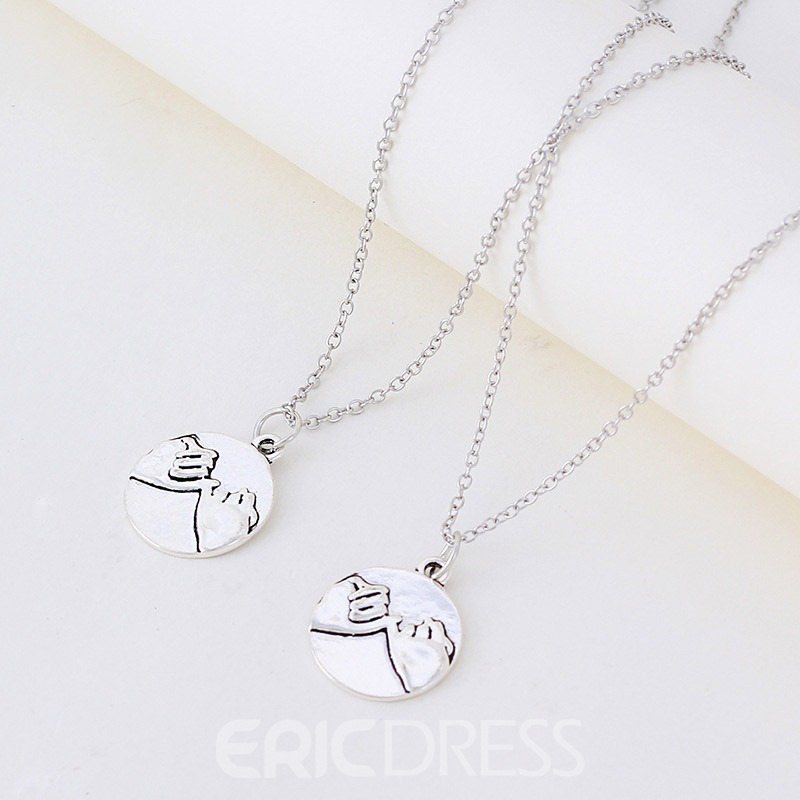 Ericdress Hand Pendant Necklace