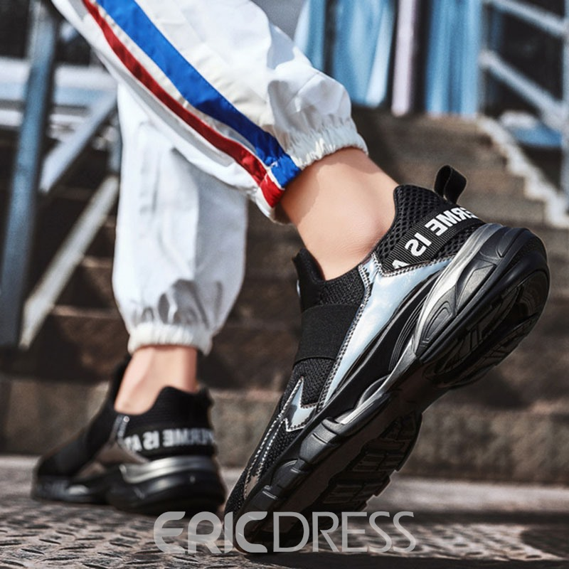 ericdress Low-Cut-Sneakers mit Rundhalsausschnitt