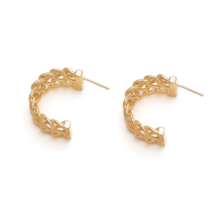 Ericdress Alloy Hollow Out Simple Earrings