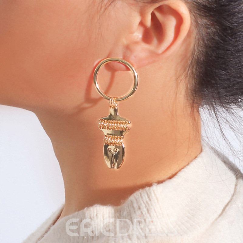 Ericdress Alloy E-Plating Fashion Earrings