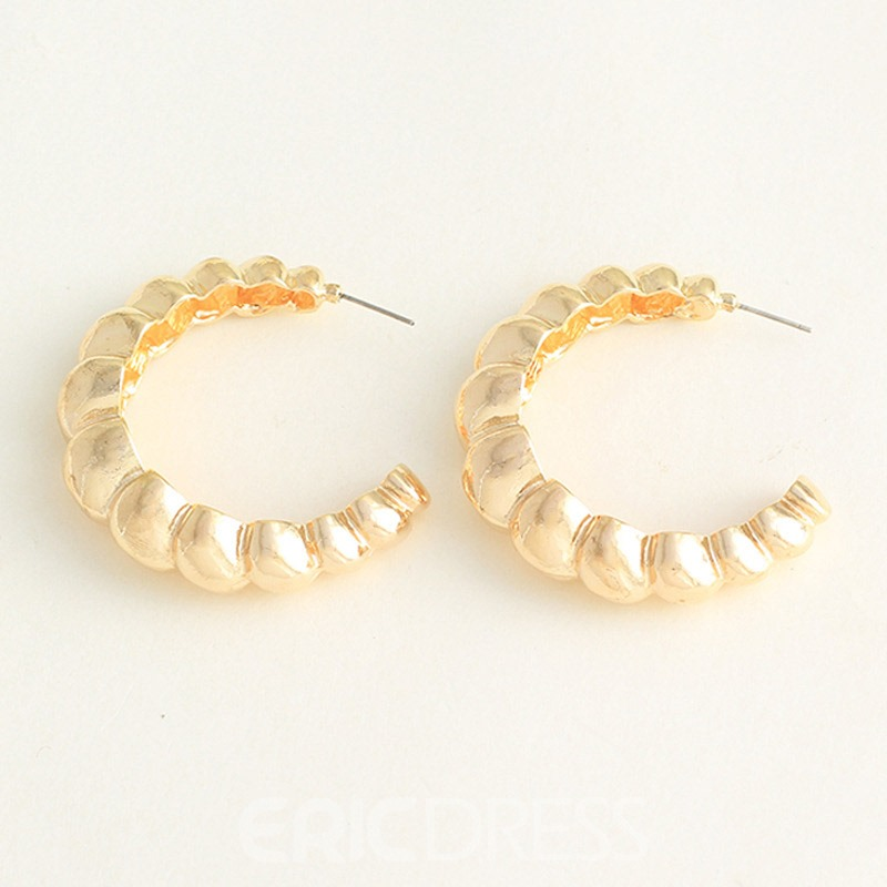 Ericdress Hoop 2019 Fashion Earrings